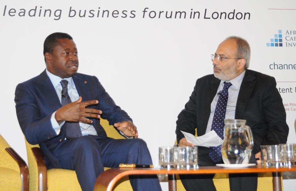 Le Président de la République SEM Faure Essozimna Gnassingbé a activement pris part, ce 05 juin 2019 à Londres, à la 5è édition du Débat annuel de Invest Africa