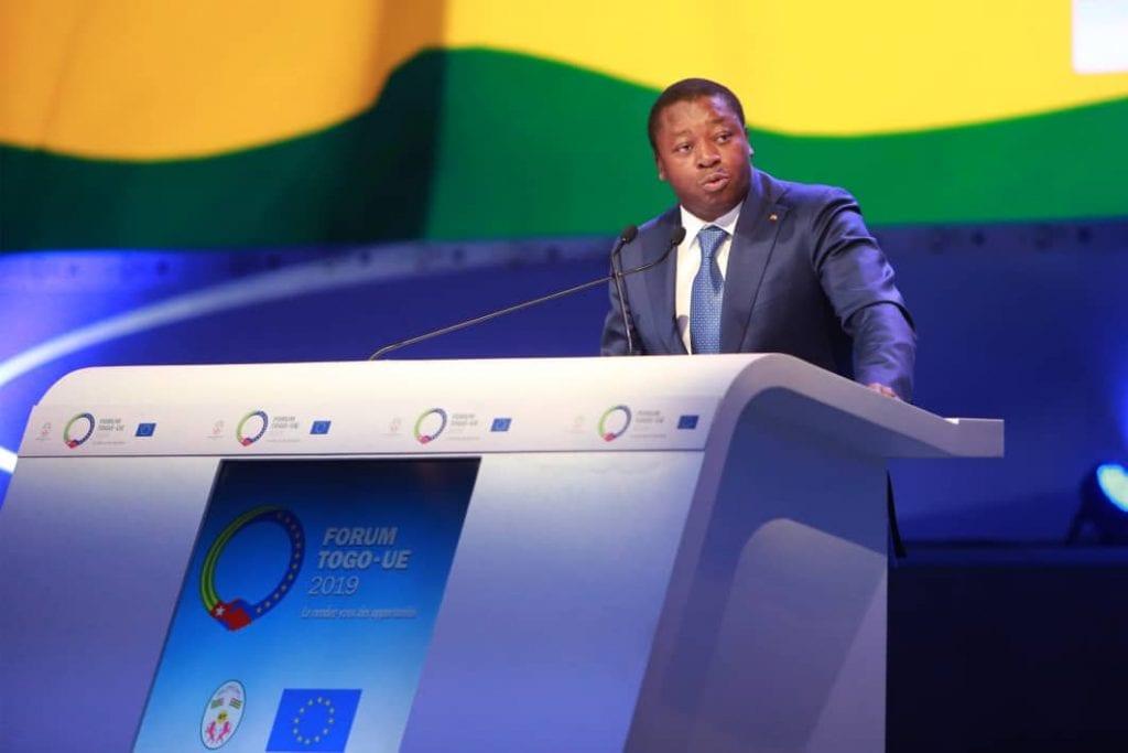 Le chef de l'Etat SEM Faure Essozimna Gnassingbé a présidé, ce 13 juin 2019, la cérémonie d'ouverture des travaux du premier Forum économique Togo-Union européenne.