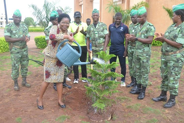 Le Togo célèbre chaque 1er juin la journée de l'arbre. Cette année encore, la tradition a été respectée sur toute l'étendue du territoire.