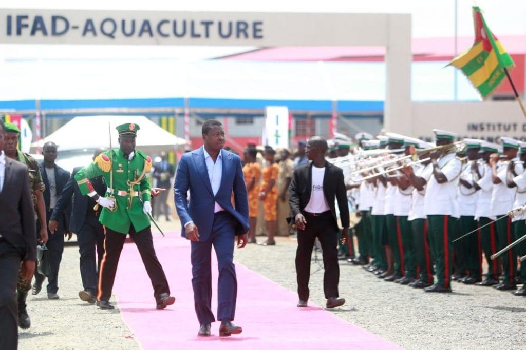 Le chef de l'Etat SEM Faure Gnassingbé a procédé, ce 18 juin 2019 à Elavagnon (Est-Mono), à la mise en service du premier Institut de formation en alternance pour développement (IFAD).