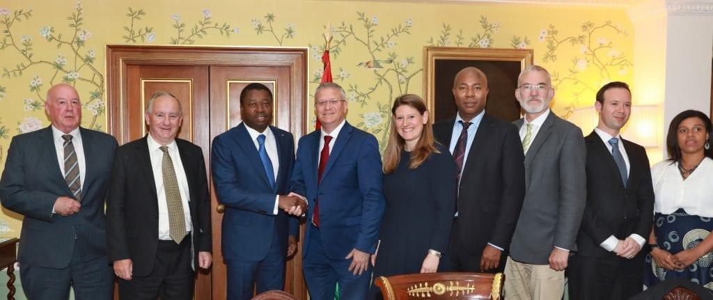 Le Président de la République SEM Faure Essozimna Gnassingbé a eu, ce 04 juin 2019 à Londres, une séance de travail avec un groupe de parlementaires et une délégation du secteur privé britannique.