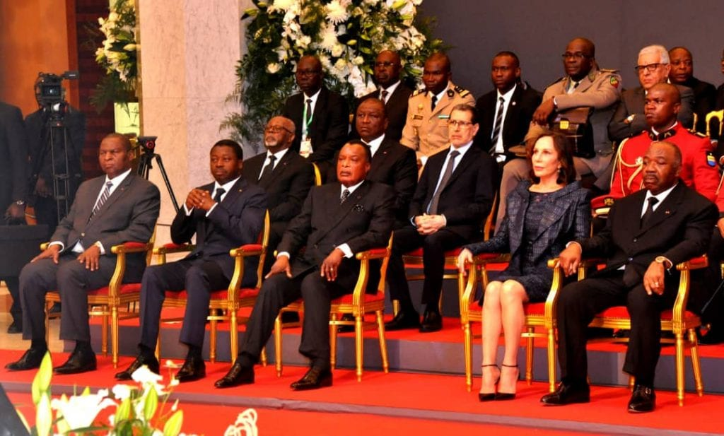 Le Président de la République SEM Faure Essozimna Gnassingbé s'est rendu, ce 08 juin 2019 à Libreville au Gabon, pour la cérémonie de commémoration du 10è anniversaire du rappel à Dieu de feu président gabonais Omar Bongo Ondimba.