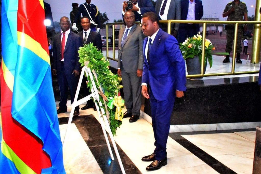 Le chef de l'Etat salue la mémoire d'Etienne Tshisekedi Le Président de la République SEM Faure Essozimna Gnassingbé a effectué, ce 02 juillet 2019, une visite de travail et d'amitié à Kinshasa en République Démocratique du Congo (RDC).