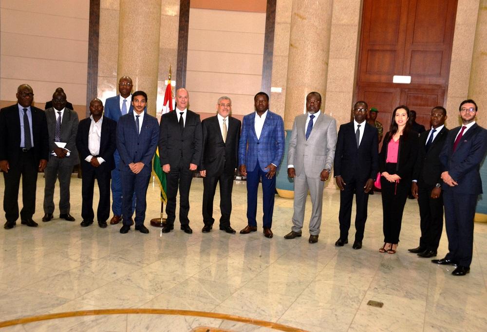 Le chef de l'Etat SEM Faure Essozimna Gnassingbé a présidé, ce 16 juillet 2019 à Lomé, une cérémonie de signature d'une convention de financement des chaînes de valeur agricoles, à travers le MIFA
