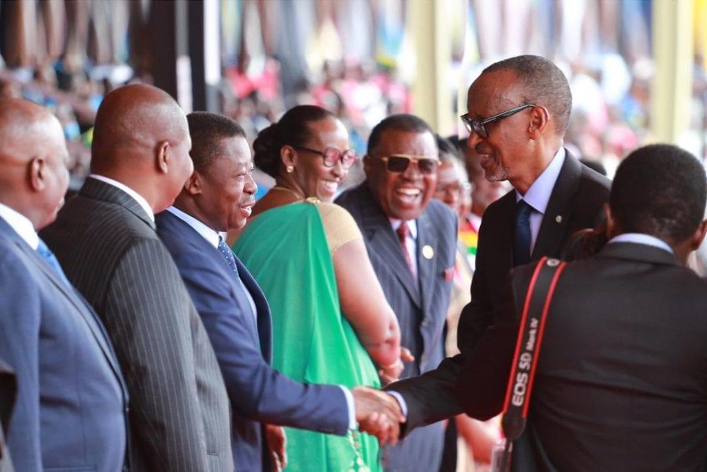 Le Président de la République SEM Faure Essozimna Gnassingbé a assisté ce 04 juillet 2019, à Kigali au Rwanda à la célébration du 25è anniversaire de la «Fête de la Libération » du pays.
