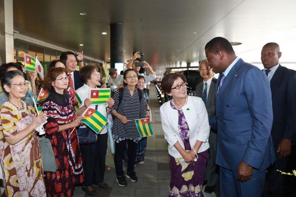Le Togo renouvelle sa sympathie à Watari cho Le Président de la République SEM Faure Essozimna Gnassingbé, présent au Japon pour la TICAD7, s'est rendu ce 27 août 2019 à Watari cho, une commune de la ville Sendai, victime du tsunami en 2011.