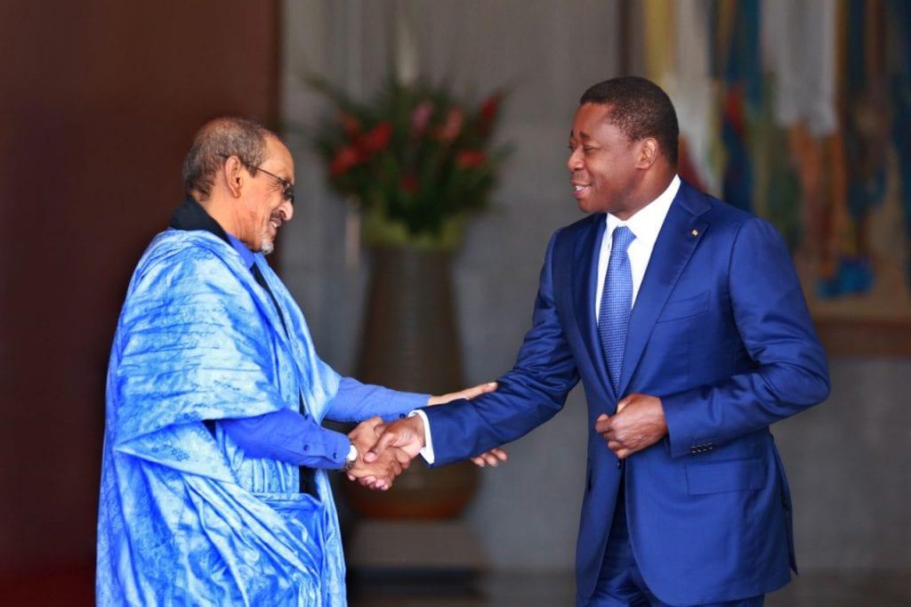 e Président de la République SEM Faure Essozimna Gnassingbé s'est entretenu, ce 17 octobre 2019, avec le Représentant-résident du Fonds des Nations unies pour l'enfance (Unicef) au Togo, M. Isselmou Boukhary, en fin de mission.