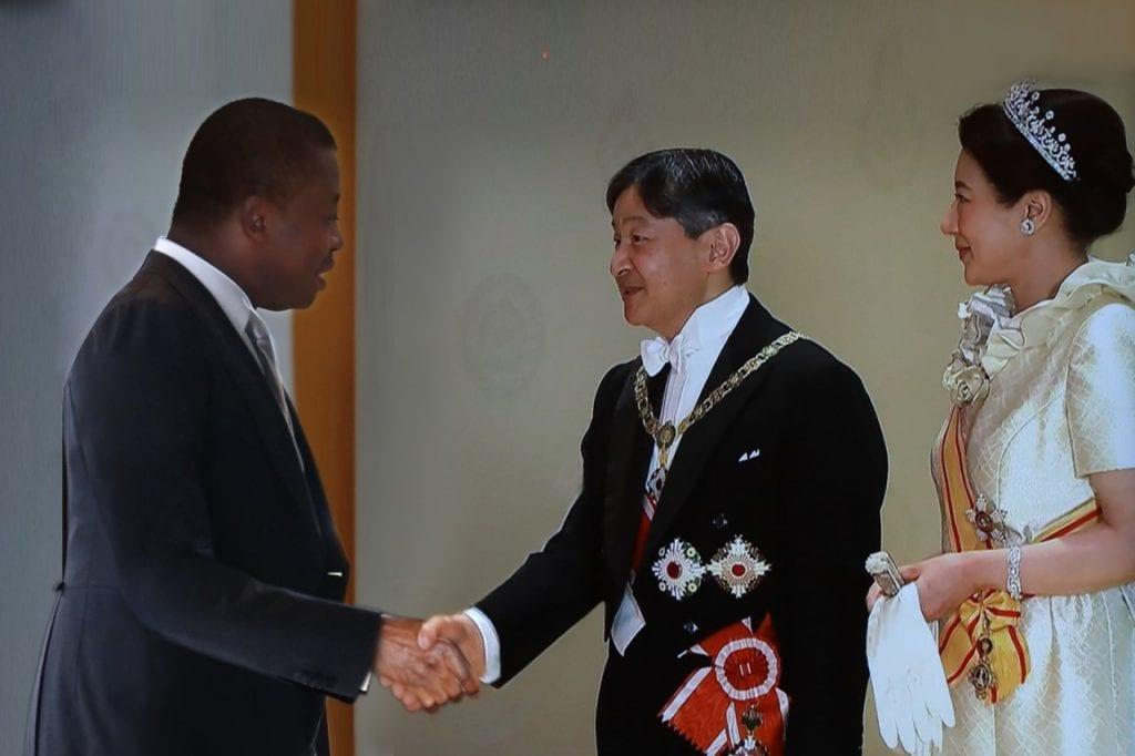 Le Président de la République, S.E.M. Faure Essozimna Gnassingbé a pris part, ce 22 octobre 2019 à Tokyo, à la célébration de la montée au trône du nouvel Empereur, le Prince héritier Nahurito