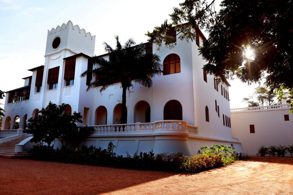 Inauguration Palais de Lomé, ancien Palais des Hôtes de marque