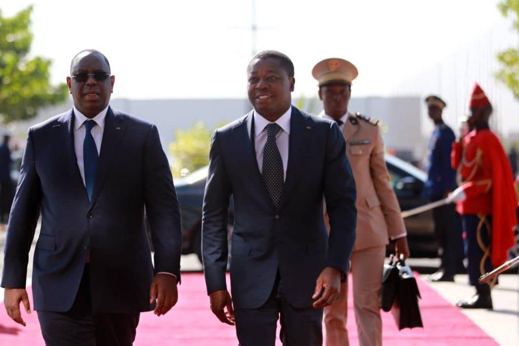 Arrivée de Faure Gnassingbé à Dakar pour deux rencontres internationales