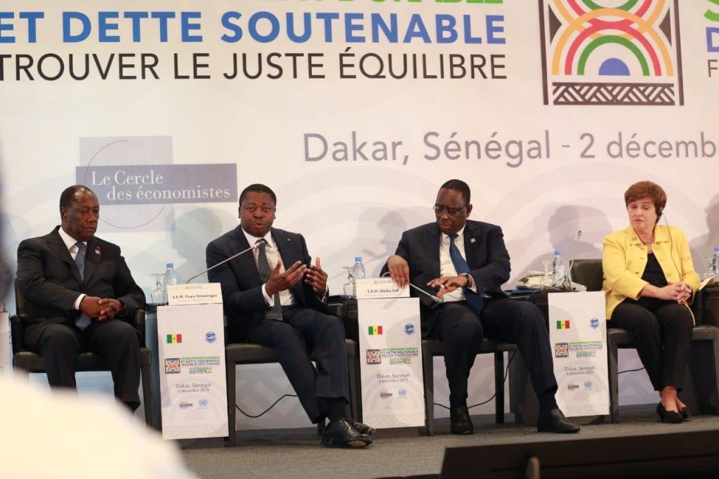 Développement durable et dette soutenable, trouver le juste équilibre . Faure Gnassingbé à Dakar