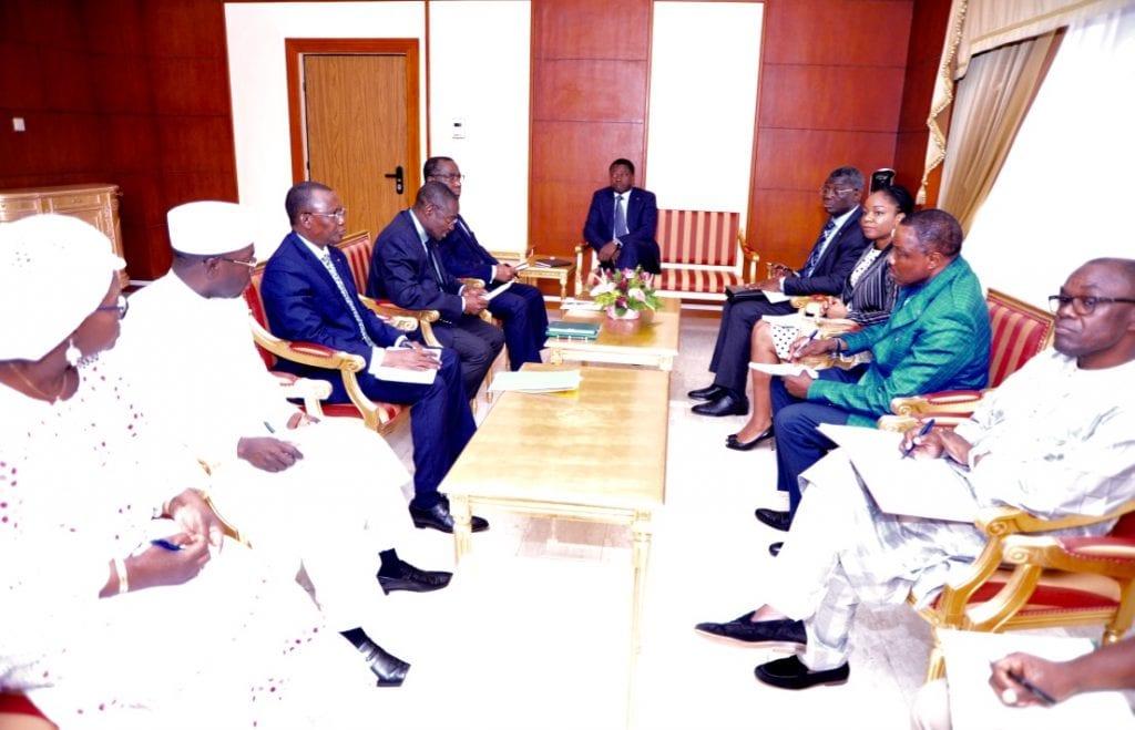 Le chef de l'Etat SEM Faure Gnassingbé a présidé une réunion de crise sur le Coronavirus