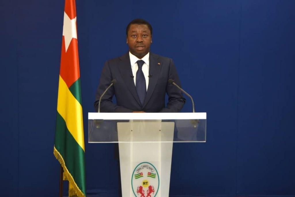Discours du chef de l'Etat SEM Faure Essozimna Gnassingbé sur la riposte contre le COVID-19 Lomé 01 avril 2020