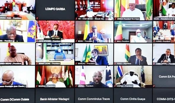 COVID-19 : les grandes décisions et les recommandations du Sommet extraordinaire des dirigeants ouest-africains sur situation de la pandémie