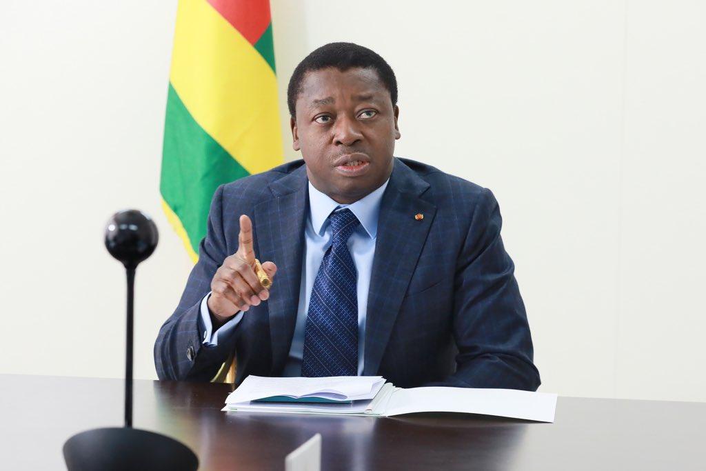 Le Président de la République SEM Faure Essozimna Gnassingbé participe, ce jeudi 23 avril 2020, par visioconférence, à la session extraordinaire de la Conférence des chefs d'Etat et de gouvernement de la CEDEAO.