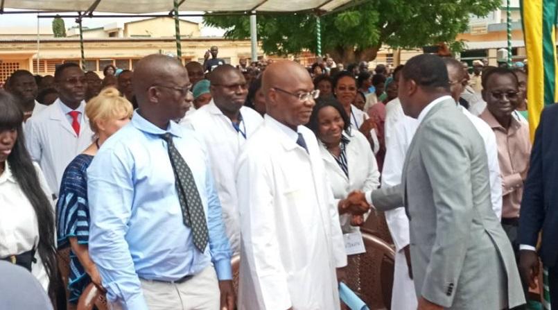 Amélioration du système de santé, l'un des chantiers phares du nouveau mandat du chef de l'Etat Faure Gnassingbé