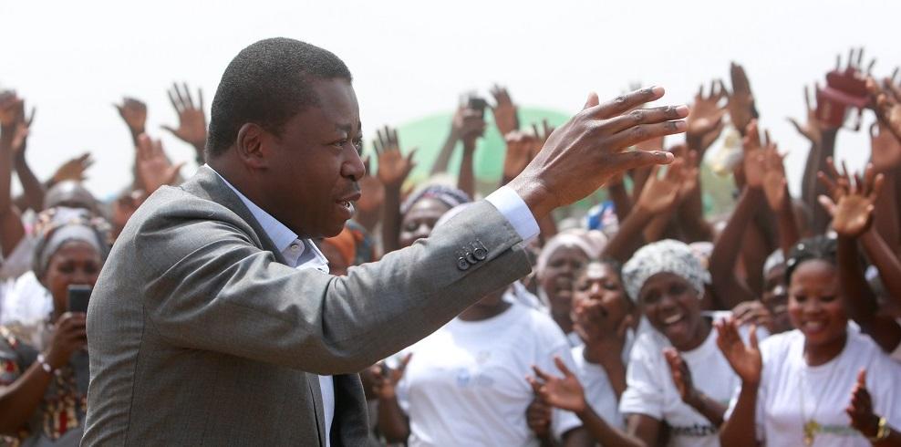 Réélu à la magistrature suprême le 22 février 2020, le Président de la République SEM Faure Essozimna Gnassingbé entame son nouveau mandat sous le sceau de la consolidation des acquis et d'un nouvel élan pour le progrès.