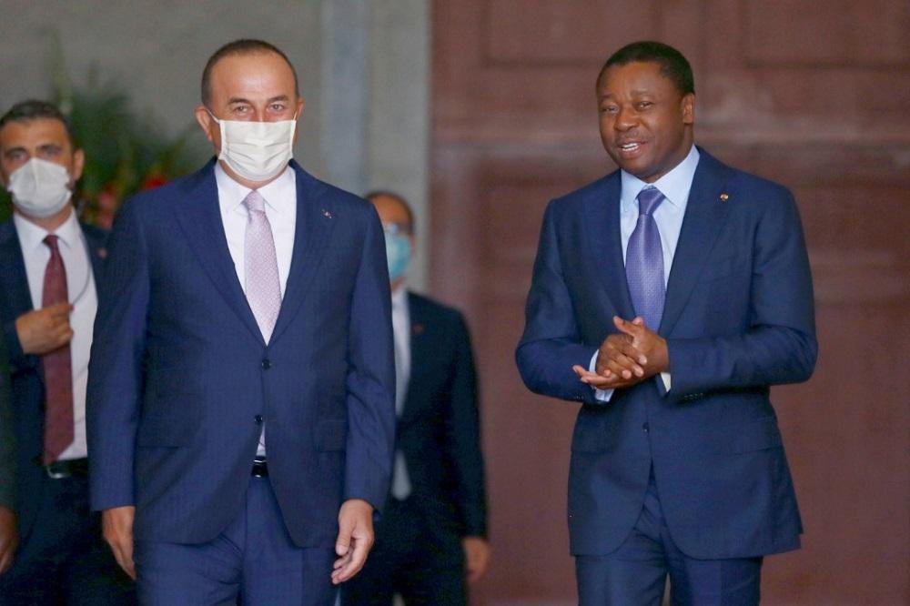 Le Président de la République SEM Faure Essozimna Gnassingbé s'est entretenu ce 20 juillet 2020 avec M. Mevlüt Çavuşoğlu, ministre turc des Affaires étrangères.