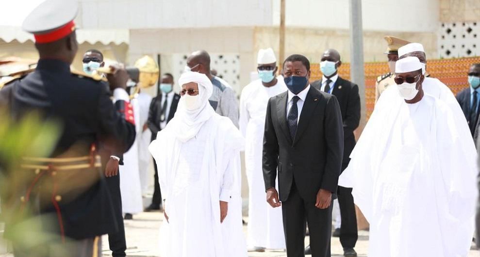 Le Président de la République SEM Faure Essozimna Gnassingbé a honoré de sa présence, ce 17 juillet à Korhogo en Côte d'Ivoire, les cérémonies du dernier hommage à feu Amadou Gon Coulibaly, ancien Premier ministre ivoirien rappelé à Dieu le 8 juillet dernier à Abidjan.
