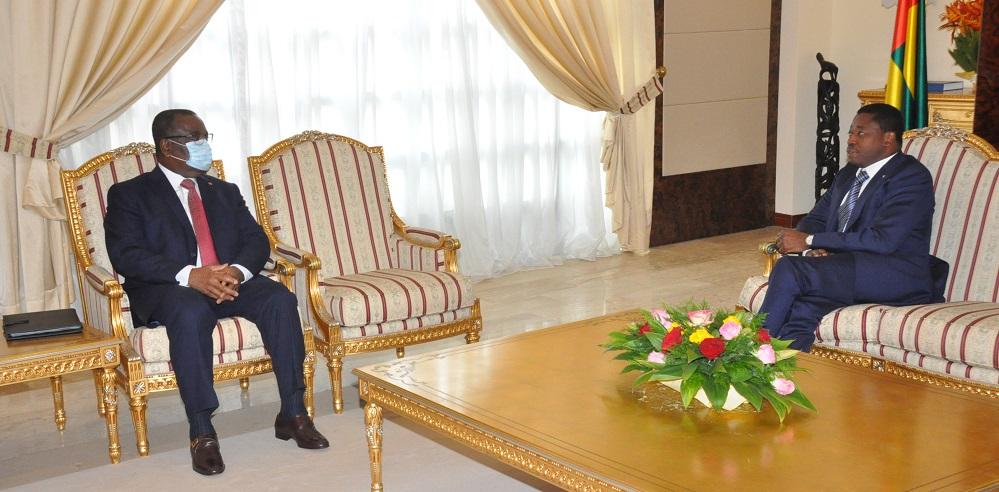 Le Conseil des ministres s'est réuni ce mardi 22 septembre 2020 au Palais de la Présidence de la République, sous la présidence de Son Excellence, Monsieur Faure Essozimna GNASSINGBE, Président de la République.