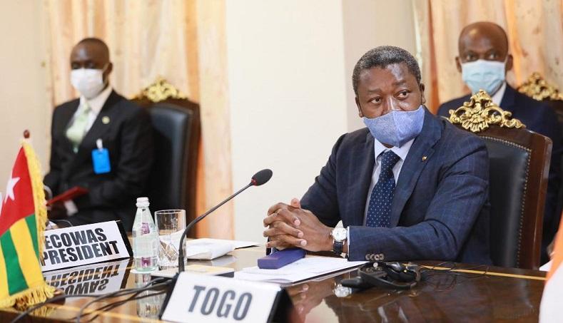 Le Président de la République, S.EM. Faure Essozimna Gnassingbé prend part ce 15 septembre 2020 à Accra au Ghana à une réunion consultative de la Communauté économique des États de l'Afrique de l'Ouest (CEDEAO) sur le Mali et la sous-région ouest africaine.
