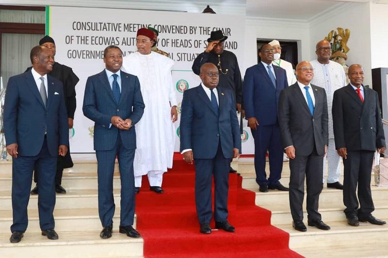 Une réunion consultative de la Communauté économique des États de l'Afrique de l'Ouest (CEDEAO) sur la situation sociopolitique au Mali s'est tenue le 15 septembre 2020 à Accra au Ghana. Le Président de la République, S.EM. Faure Essozimna Gnassingbé, a pris part à cette rencontre de haut niveau qui s'inscrit dans le cadre d'un retour rapide à l'ordre constitutionnel dans ce pays frère.