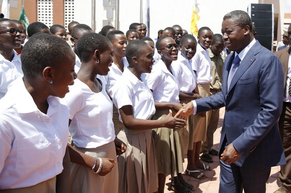 Le Président de la République, SEM Faure Essozimna Gnassingbé s'emploie depuis quelques années pour l'émergence d'une jeunesse instruite et productive, en offrant aux apprenants une éducation de meilleure qualité.