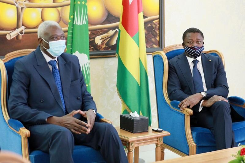 Le Président de la transition du Mali SEM Bah N'Daw, a effectué ce 13 novembre 2020 une visite de travail et d'amitié à Lomé au Togo.