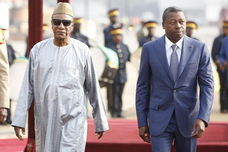Le Président de la République, SEM Faure Essozimna Gnassingbé a assisté ce 15 décembre 2020 à la cérémonie d'investiture du Président Alpha Condé réélu à la magistrature suprême de son pays.