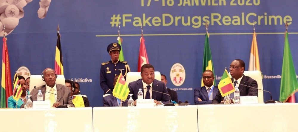 Le Chef de l'Etat, SEM Faure Essozimna Gnassingbé s'est engagé dans une lutte efficace contre le trafic de médicaments falsifiés, un fléau dont le continent africain est la première victime.