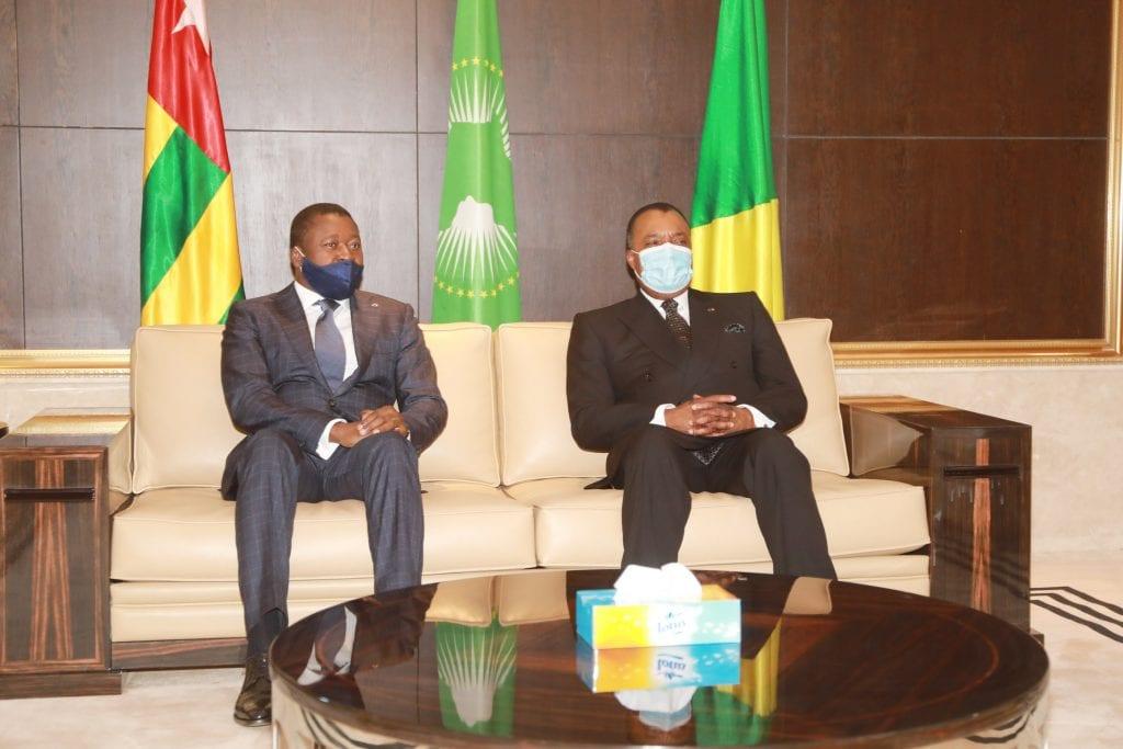 Le Président de la République Faure Essozimna Gnassingbé est arrivé ce 18 février 2021 à Brazzaville au Congo pour une visite de travail et d'amitié.