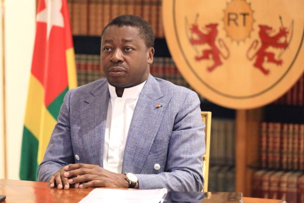 Le Président de la République, SEM Faure Essozimna Gnassingbé prend part, ce 06 février 2021, aux travaux de la 34ème session ordinaire de la Conférence des Chefs d'Etat et de gouvernement de l'Union africaine (UA), par visioconférence