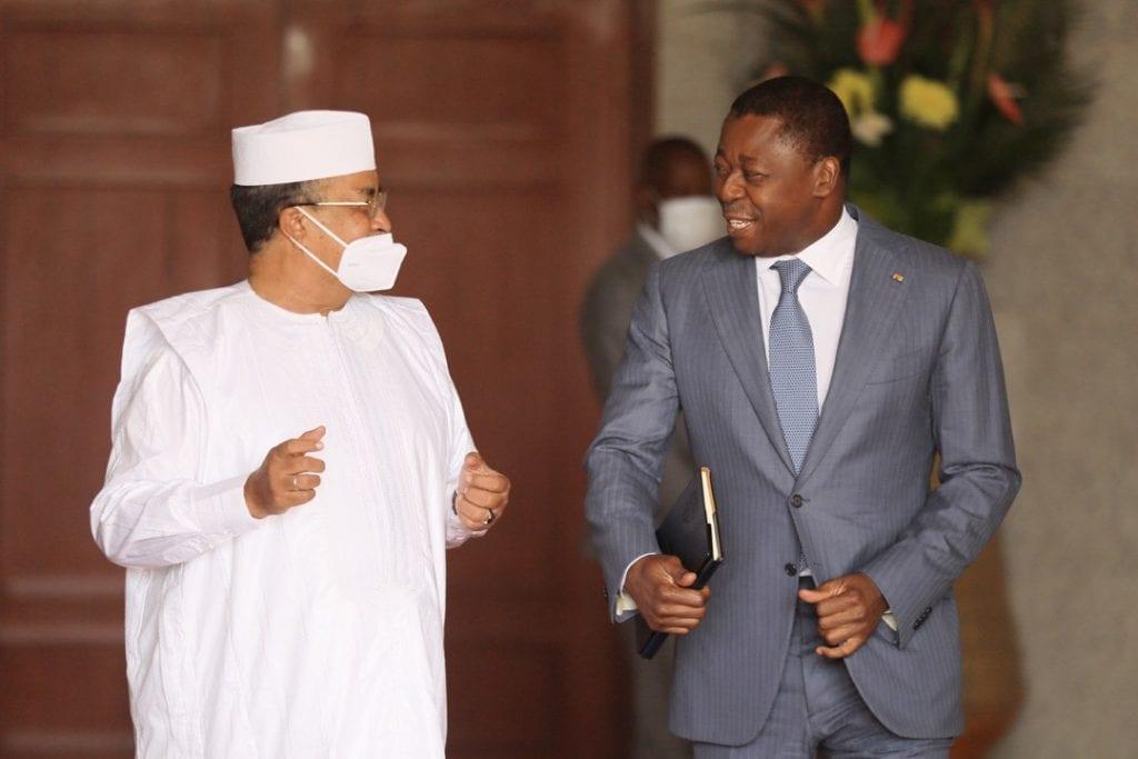 Lomé accueille demain la deuxième réunion du Groupe de soutien à la transition au Mali (GST-Mali). En prélude à cette rencontre internationale, M. Mahamat Salleh Annadif,le Représentant spécial du Secrétaire général des Nations Unies au Mali a rendu visite au Chef de l'Etat Faure Essozimna Gnassingbé.