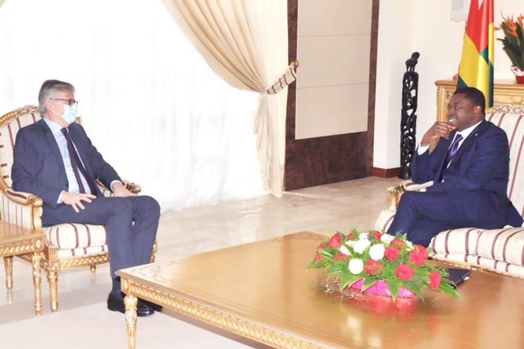 Le Président de la République, Faure Essozimna Gnassingbé s'est entretenu avec le Secrétaire général-adjoint des Nations Unies aux opérations de paix, M. Jean-Pierre Lacroix.