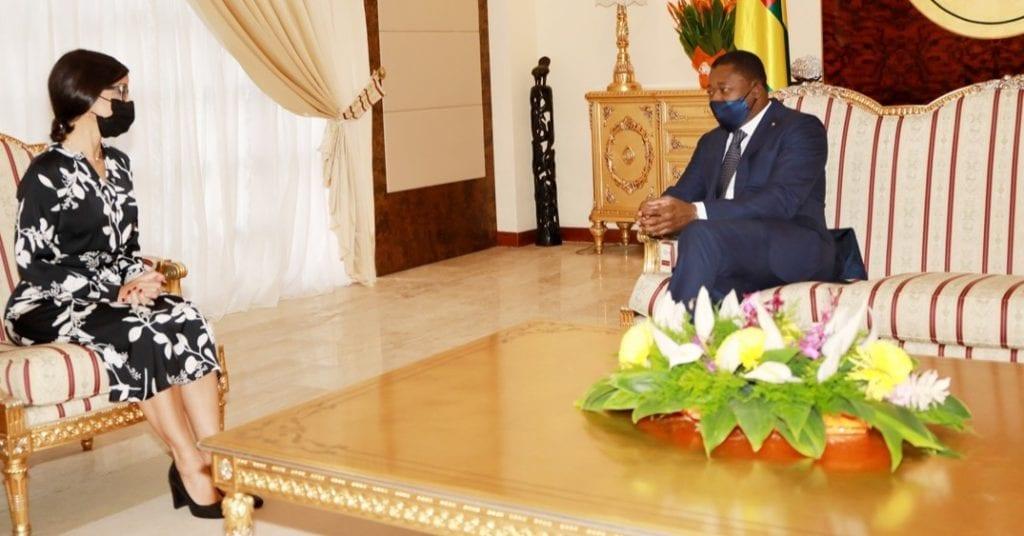 Le Président de la République, Faure Essozimna Gnassingbé a reçu, ce 23 mars 2021, les lettres de créance de neuf nouveaux ambassadeurs.