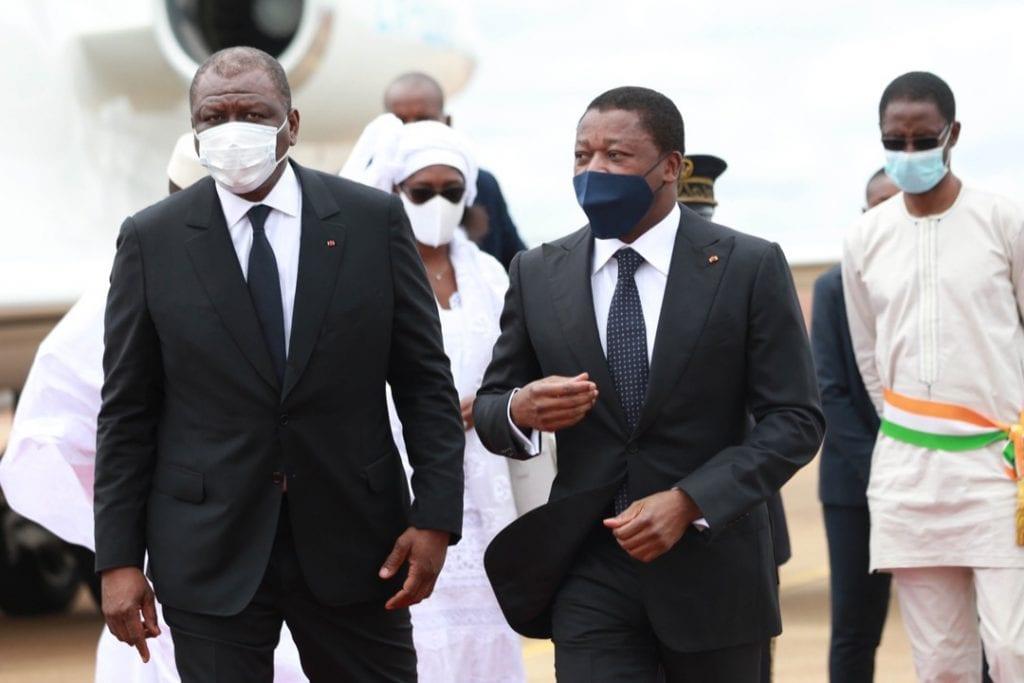 Le Président de la République Faure Essozimna Gnassingbé a adressé un message de condoléance à son homologue ivoirien Alassane Ouattara suite au décès du Premier ministre Hamed Bakayoko survenu ce 10 mars 2021.