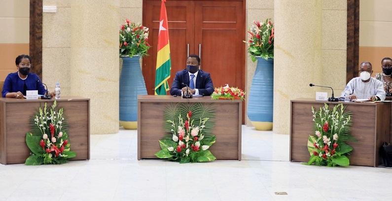 Le Chef de l'Etat Faure Essozimna Gnassingbé a présidé ce 14 avril 2021 le Conseil des ministres. Le Conseil a examiné deux avant-projets de loi, deux projets de décret et écouté cinq communications.