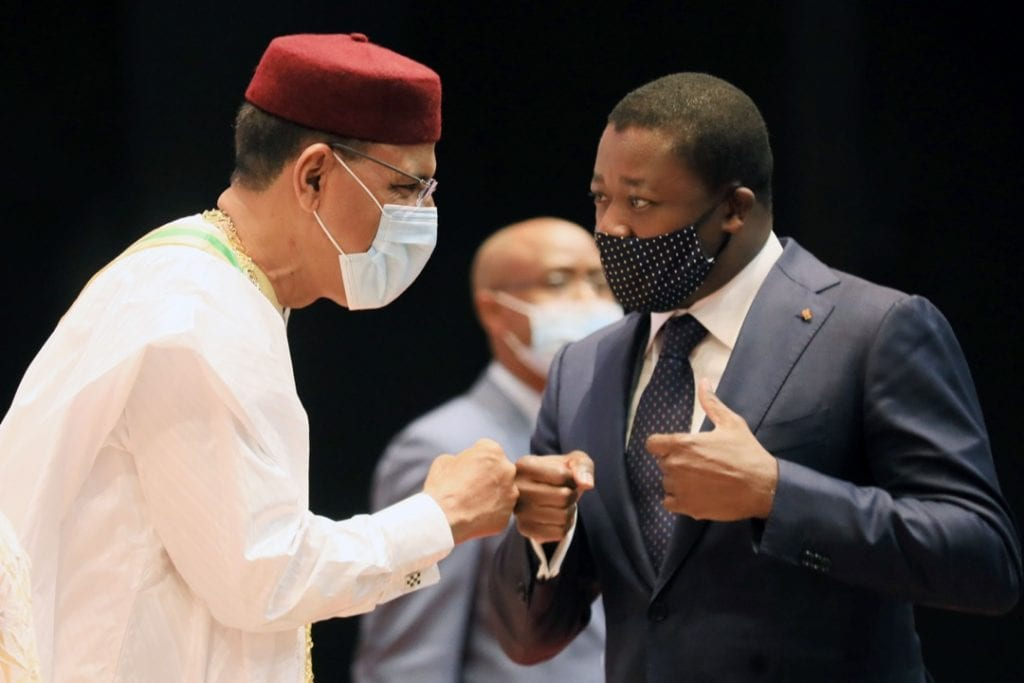 Le Chef de l'Etat, SEM Faure Essozimna Gnassingbé a participé, ce 02 avril 2021 à Niamey, à la cérémonie d'investiture du Président élu de la République du Niger, SEM Mohamed Bazoum.