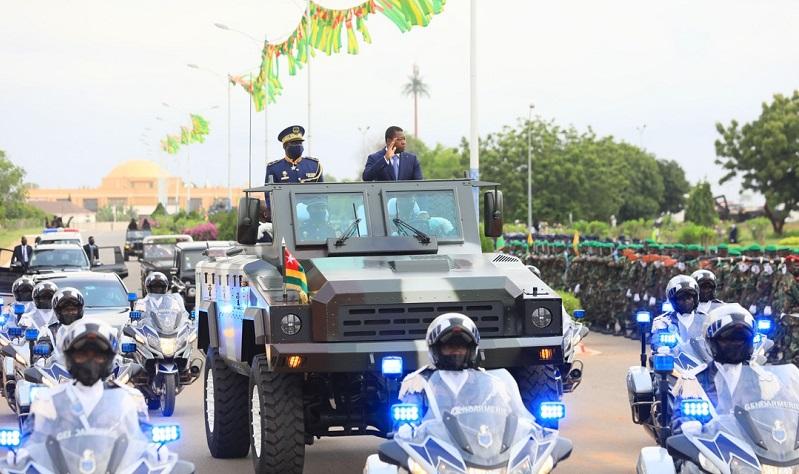27 avril 1960-27 avril 2021. 61 ans déjà que notre pays accède à la souveraineté internationale, un événement solennel marqué par un défilé militaire et paramilitaire, présidé par le Chef de l'Etat Faure Essozimna Gnassingbé.