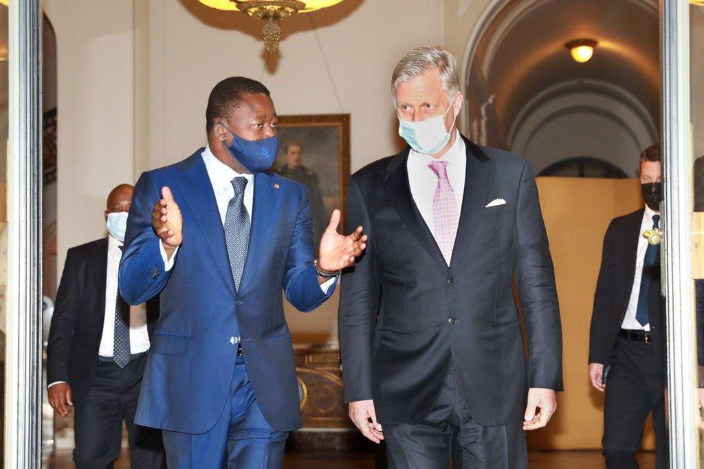 Le Président de la République Faure Essozimna Gnassingbé, en séjour depuis hier à Bruxelles pour des entretiens avec les institutions européennes, a été reçu ce jeudi matin par le Roi Philippe des Belges.
