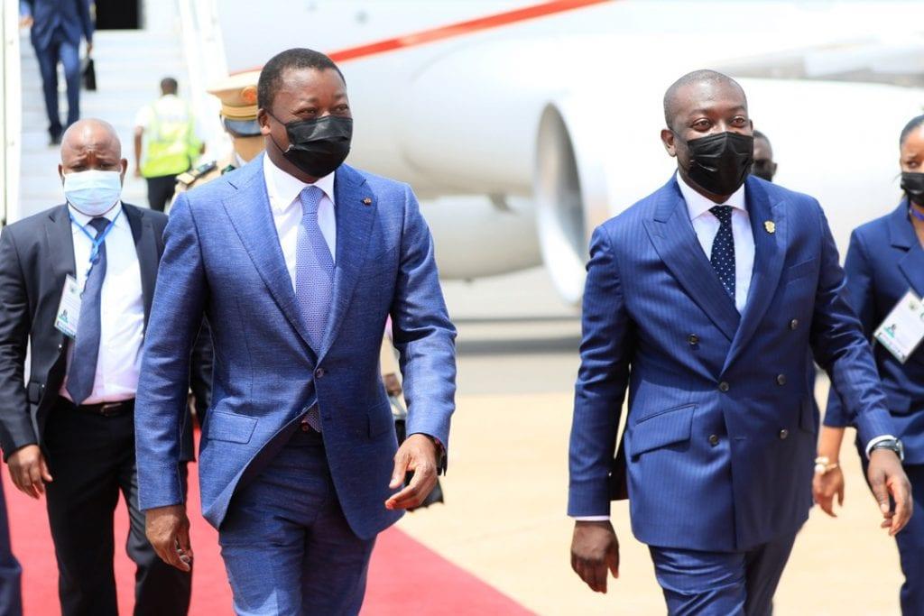 Le Président de la République Faure Essozimna Gnassingbé est arrivé en fin de matinée à Accra au Ghana où il prendra part au sommet extraordinaire de la Conférence des Chefs d'Etat et de Gouvernement de la Communauté économique des Etats de l'Afrique de l'Ouest (CEDEAO) sur le Mali.