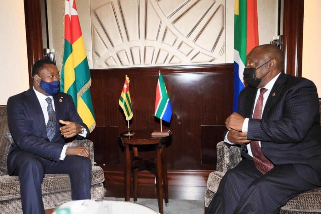 En marge du sommet de Paris sur le financement des économies africaines, le Chef de l'Etat Faure Essozimna Gnassingbé a échangé avec ses pairs africains et plusieurs autres personnalités.