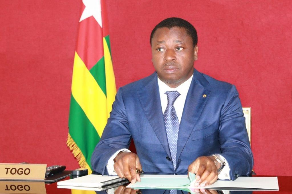 Le Chef de l'Etat Faure Essozimna Gnassingbé a participé ce 02 juin 2021 au sommet virtuel de la Garantie de marché (AMC) COVAX de Gavi