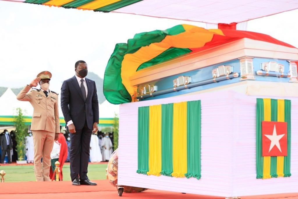 Kabou: le Président de la République assiste aux obsèques de feu El Hadj Abass Bonfoh