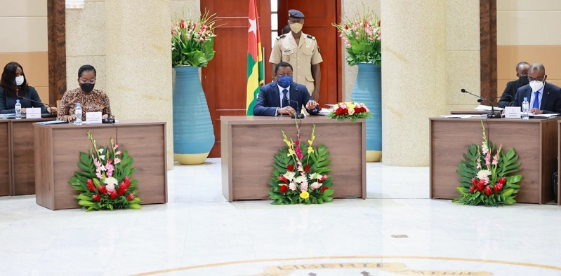 Conseil des ministres du 9 septembre 2021 : santé, gouvernance locale et économique au cœur des travaux Le Chef de l'Etat, Faure Essozimna Gnassingbé a présidé, ce jeudi 09 septembre 2021, le Conseil des ministres.