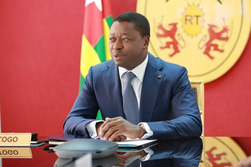 Le Président de la République, Faure Essozimna Gnassingbé a pris part, ce 08 septembre 2021, aux travaux de la session extraordinaire de la Conférence des chefs d'Etat et de gouvernement de la CEDEAO sur la situation en Guinée et au Mali.