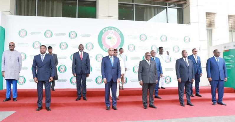 Le Président de la République, Faure Essozimna Gnassingbé a pris part, ce 16 septembre 2021 à Accra au Ghana, aux travaux de la session extraordinaire de la Conférence des chefs d'Etat et de gouvernement de la CEDEAO sur les crises politiques en Guinée et au Mali.
